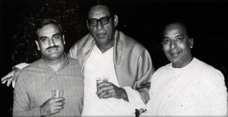 Ustad Amir Khan, Ustad Vilayat Khan & Booby Sethi